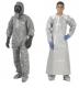 Indumenti resistenti alla permeazione da agenti chimici non conv