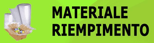 MATERIALE RIEMPITIVO E PROTETTIVO